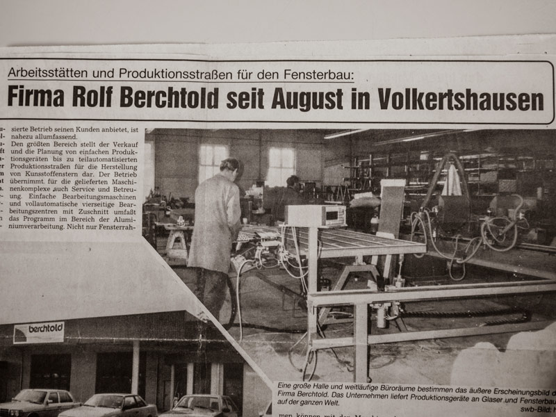 Berchtold Historie